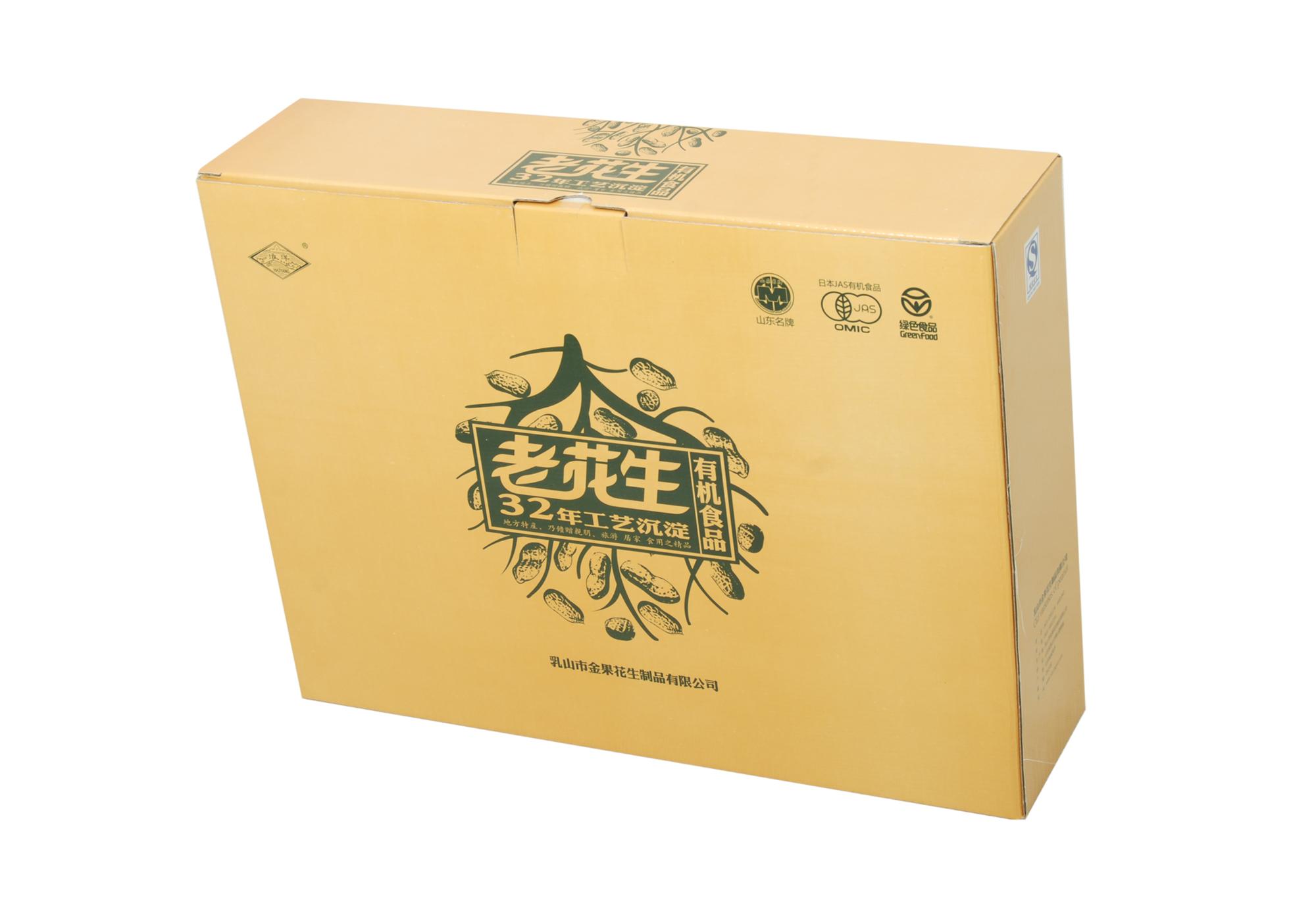 包装盒立体图